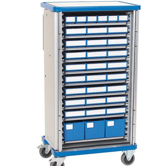 Armoire de transfert aluminium