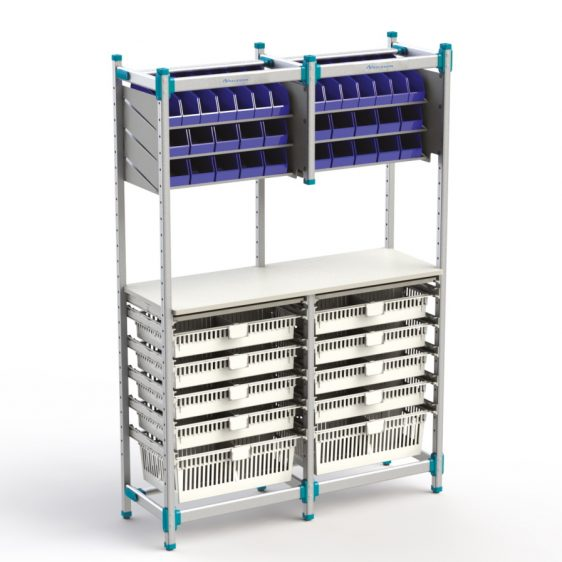 Rayonnage modulaire Easyflex