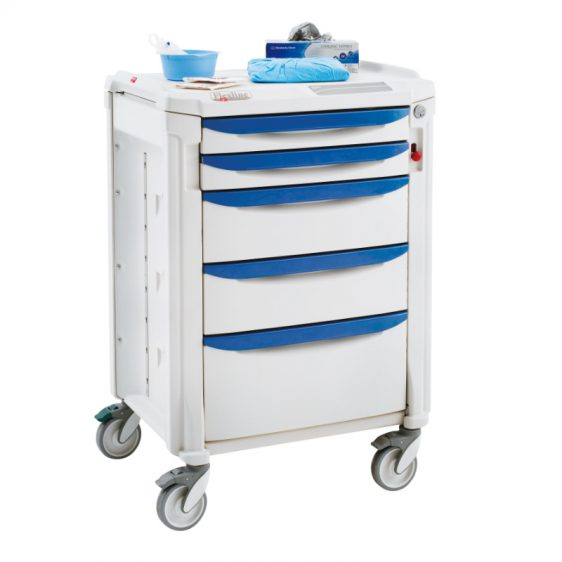 Chariot d'anesthésie Flexline