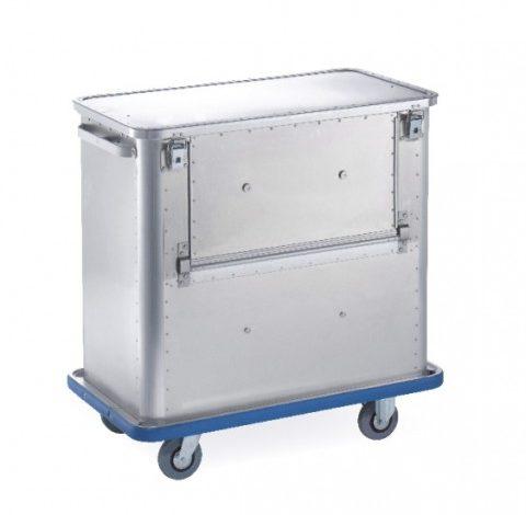Chariot conteneur aluminium